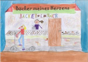 Grundschule Gorch-Fock-Schule, gemalt von Lisa Petzoldt