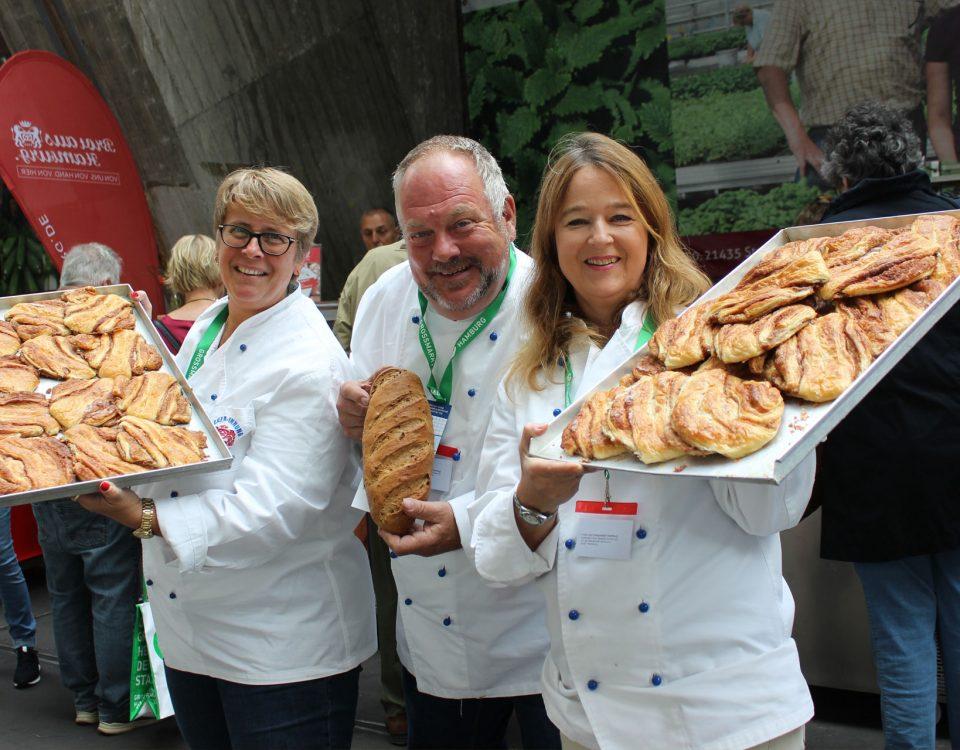Bäcker-Innung auf dem Food-Market Hamburg 2019
